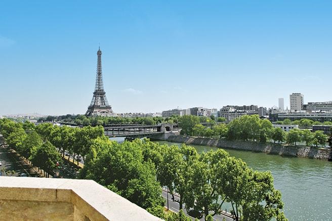 Quartier rive droite du 16e arrondissement de Paris